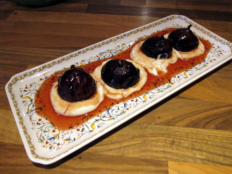 Baked Figs with Honey and Yoghurt